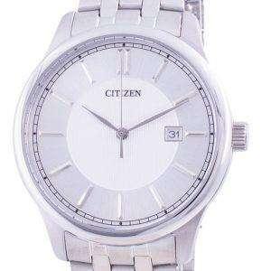 Reloj para hombre Citizen Silver Dial de acero inoxidable de cuarzo BI1050-56A