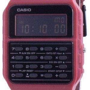 Reloj unisex Casio Youth Data Bank de hora dual CA-53WF-4B CA53WF-4B