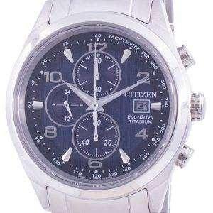 Reloj Citizen Eco-Drive Super Titanium taquímetro CA0650-82L 100M para hombre