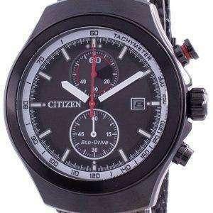 Citizen Black Dial Chronograph Eco-Drive CA7015-82E 100M Men's Watch