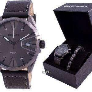Diesel MS9 Grey Dial Quartz DZ1924 With Gift Set Men's Watch