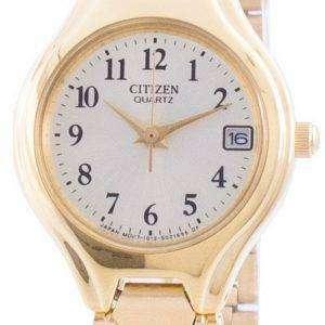 Citizen Champagne Dial Quartz EU2252-56P Women's Watch