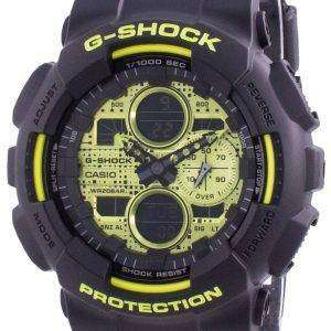 Reloj Casio G-Shock World Time Quartz GA-140DC-1A GA140DC-1A 200M para hombre
