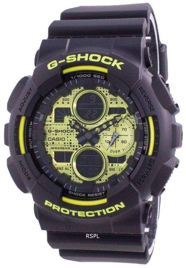 Reloj Casio G-Shock World Time Quartz GA-140DC-1A GA140DC-1A 200M para hombre