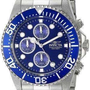 Invicta Pro Diver Chronograph 200M 1769 Men's Watch