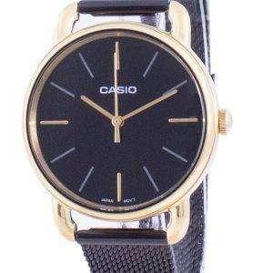 Reloj Casio Black Dial Quartz LTP-E412MGB-1A LTPE412MGB-1A para mujer