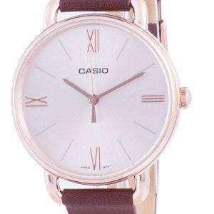 Reloj Casio Rose Gold Tone Dial Quartz LTP-E414PL-5A LTPE414PL-5A para mujer