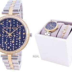 Michael Kors Maci Diamond Accents Quartz MK1021 With Gift Set Women's Watch