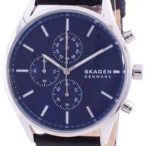 Skagen Holst Chronograph Blue Dial Quartz SKW6606 Men's Watch