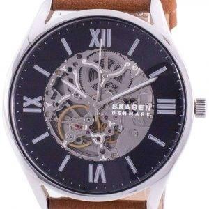 Skagen Holst Skelton Black Dial Automatic SKW6613 Men's Watch