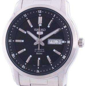 Seiko 5 Automatic Black Dial SNKP11 SNKP11K1 SNKP11K Men's Watch