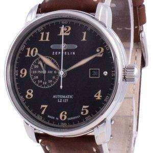 Zeppelin LZ127 Graf Black Dial Automatic 8668-2 86682 Men's Watch