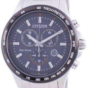 Citizen Blue Dial Tachymeter Eco-Drive AT2424-82H Men's Watch