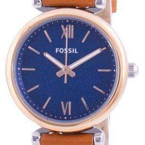 Fossils Carlie Mini Blue Dial Quartz ES4701 Women's Watch