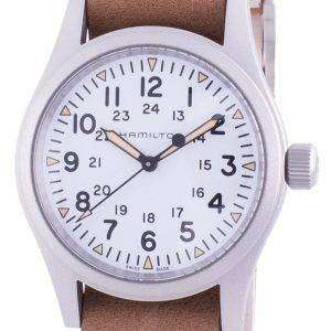 Hamilton Khaki Field White Dial Automatic H69439511 Men's Watch