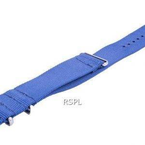 Ratio Nato8 Blue Nylon Strap 22mm