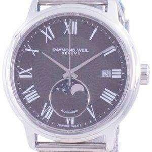 Reloj para hombre Raymond Weil Maestro Geneve Moon Phase automático 2239M-ST-00609