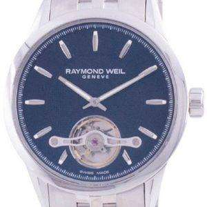Raymond Weil Freelancer Geneve Open Heart Dial Automatic 2780-ST-20001 100M Reloj para hombre