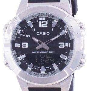 Reloj Casio Analog Digital World Time Resin Strap AMW-870-1A AMW870-1 para hombre