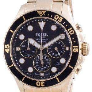 Fossil FB-03 Cronógrafo de acero inoxidable de cuarzo FS5727 100M Reloj para hombre