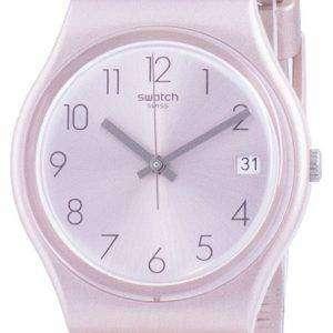 Swatch Pinkbaya Rose Gold Tone Dial Quartz GP403 Reloj para hombre