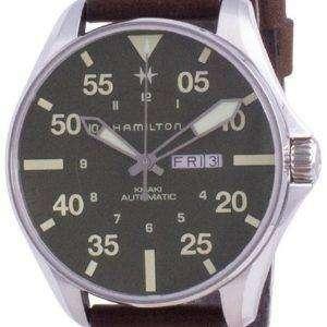 Hamilton Khaki Pilot Schott NYC Limited Edition Automatic H64735561 200M Reloj de buceo para hombre