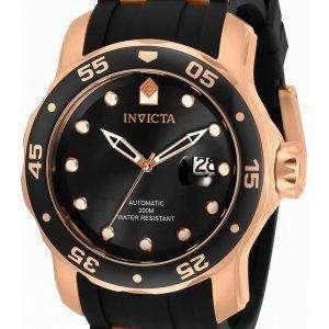 Invicta Pro Diver Black Dial Automatic 33340 200M Reloj para hombre
