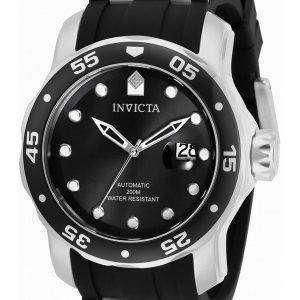 Invicta Pro Diver Black Dial Automatic 33341 200M Reloj para hombre