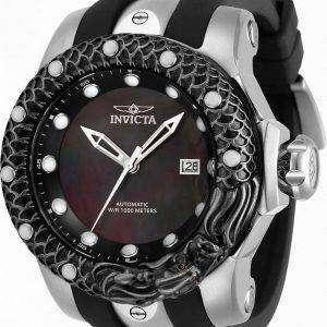 Reloj para hombre Invicta Venom Mother Of Pearl Dial automático 33598 1000M Diver