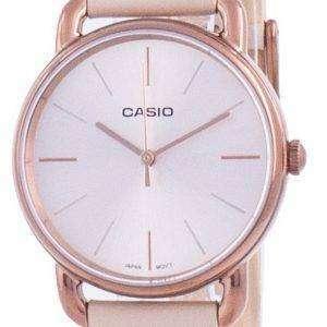 Reloj para mujer Casio Rose Gold Tone Dial Quartz LTP-E412RL-5A LTPE412RL-5