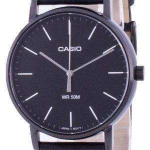 Reloj Casio de cuarzo con esfera negra MTP-E171BL-1E MTPE171BL-1 para hombre