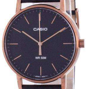 Reloj Casio Black Dial Quartz MTP-E171RL-1E MTPE171RL-1 para hombre