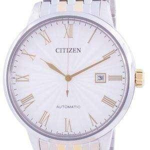 Reloj para hombre Citizen Silver Dial Automatic NJ0084-59A hecho en Japón