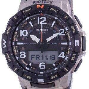 Reloj Casio Protrek Mobile Link Quartz PRT-B50T-7 PRTB50T-7 100M para hombre