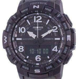 Reloj Casio Protrek Mobile Link World Time Quartz PRT-B50YT-1 PRTB50YT-1 100M para hombre