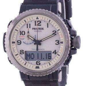 Reloj Casio Protrek World Time Tough Solar PRW-50Y-1B PRW50Y-1B 100M para hombre