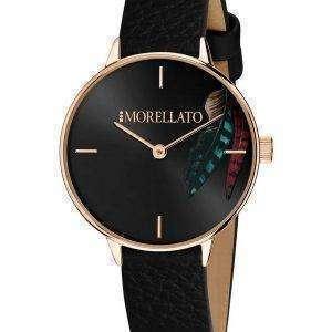 Morellato Ninfa Black Dial Quartz R0151141522 Reloj para mujer