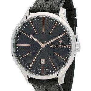 Maserati Attrazione Black Dial Quartz R8851126003 100M Reloj para hombre