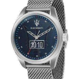 Reloj para hombre Maserati Traguardo Blue Dial Quartz R8853112002 100M