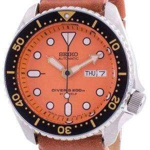 Seiko Automatic Diver&#39,s SKX011J1-var-LS21 200M Reloj para hombre hecho en Japón