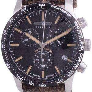 Zeppelin Night Cruise Chronograph Quartz 7296-2 72962 100M Reloj para hombre