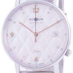 Reloj Zeppelin Grace Diamond Accents Quartz 7441M-1 7441M1 para mujer