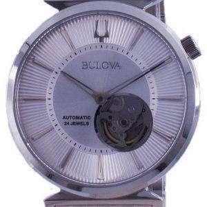 Reloj Bulova Classic Regatta Open Heart Dial automático 96A235 para hombre