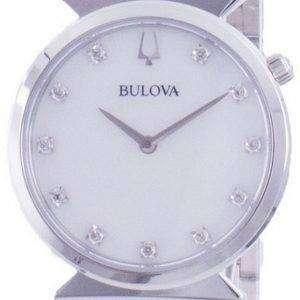 Reloj Bulova Classic Diamond Accents Quartz 96P216 para mujer