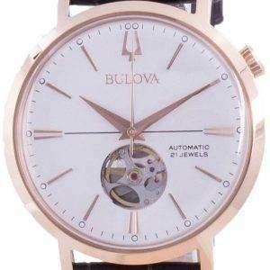 Bulova Aerojet Silver Dial Automatic 97A136 Reloj para hombre