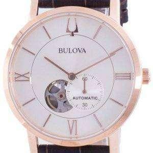 Reloj Bulova American Clipper Silver Dial automático 97A150 para hombre