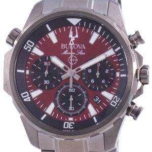 Bulova Marine Star Chronograph Quartz 98B350 100M Reloj para hombre