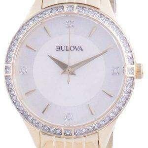 Reloj Bulova Diamond Accents Quartz 98L274 para mujer
