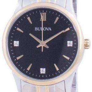 Reloj para mujer Bulova Diamond Accents Quartz 98P196