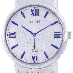 Reloj para hombre Citizen Quartz Silver Dial BE9170-72A